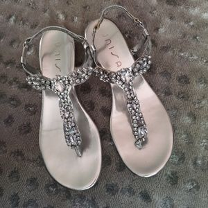 Unisa beautiful special occasion flats sz 9 used